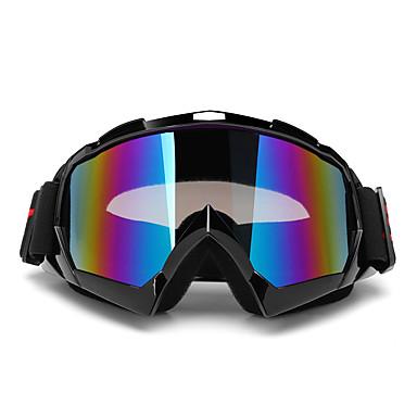 billige Motorsykkel & ATV tilbehør-dobbelt objektiv anti-tåke ski snøbrett sol snø ski briller motorsykkel uv400