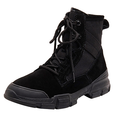 c39bc649e666 Women s Suede Spring   Fall Boots Flat Heel Round Toe Booties   Ankle Boots  Black   Gray   Brown 7130288 2019 –  44.99