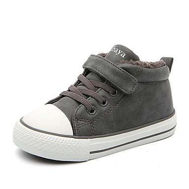 1d8e33ff3 Chica Zapatos Cuero Sintético Invierno Confort Zapatillas de deporte para  Niños   Adolescente Negro   Gris   Color Camello 7123983 2019 –  24.99