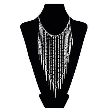 povoljno Modne ogrlice-Žene Nosiljka ogrlica Rese Hiperbola Krom Zlato Pink 45 cm Ogrlice Jewelry 1pc Za Večer stranka Festival