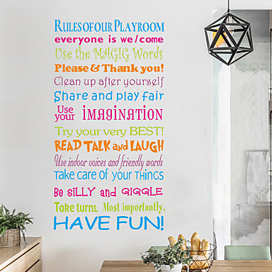 7 19 Decorative Wall Stickers Words Quotes Wall Stickers Characters Living Room Bedroom Bathroom