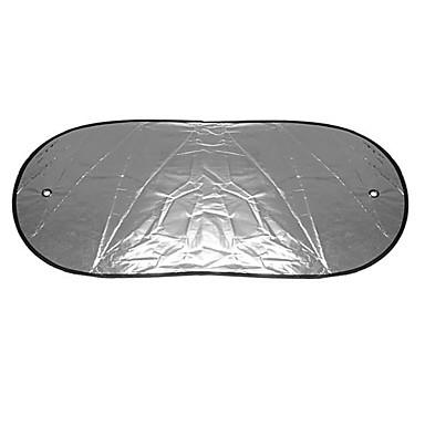 billige Interiørtilbehør til bilen-100x50cm reflekterende aluminiumsfilm varmeisolasjon bil bakrute skygge sol blokk