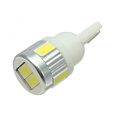 billige Automotiv-1 Deler T10 / W5W Bil Elpærer 3 W 6 LED Lisensplatelampe / interiør Lights Til