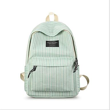 preiswerte Schultaschen-Segeltuch Reißverschluss Schultasche Schultaschen Blau / Grün / Grau