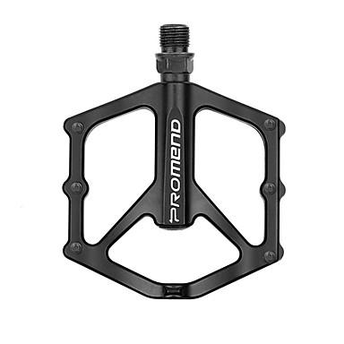 povoljno Dijelovi za bicikl-PROMEND Pedaline za brdski bicikl Ravna i položena pedala Zatvoreni ležaj Anti-Slip Izdržljivost 3 Bearing Cr-Mo za Biciklizam Cestovni bicikl Mountain Bike BMX Crn
