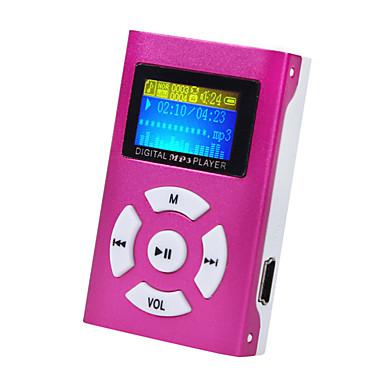 preiswerte Tragbare Audio/Video player-mini mp3 musik player lcd-bildschirm unterstützung 32 gb micro sd tf-karte sportart nagelneue art wiederaufladbar