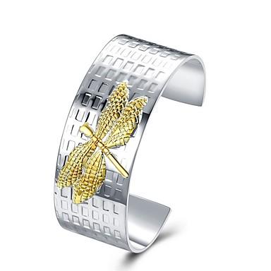 levne Pánské šperky-Pánské Široké náramky Klasika Módní S925 Sterling Silver Náramek šperky Stříbrná Pro Dar Denní