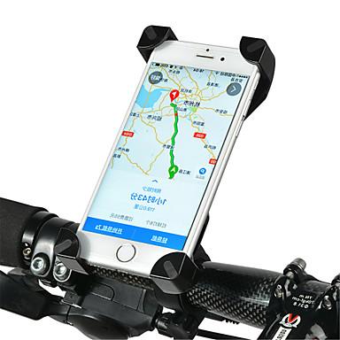 billige Sykkeltilbehør-ROCKBROS Telefonstativ til sykkel Vanntett Flyvning med 360 graders flipp Anti Shake til Vei Sykkel Fjellsykkel PVC iPhone X iPhone XS iPhone XR Sykling Svart Rosa