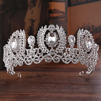 cheap Hair Jewelry-Women's Hair Jewelry For Wedding Engagement Party Wedding Alloy Silver 1pc