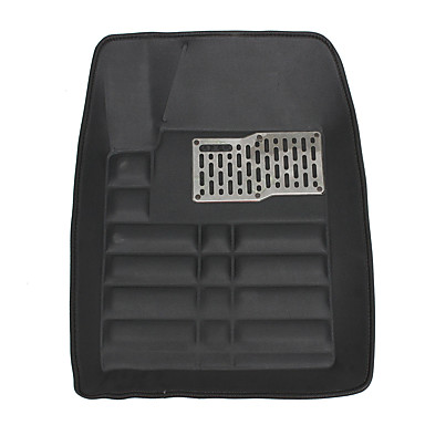 cheap Car Interior Mats-Universal Auto Mat Car Floor Mat Front And Rear Liner Waterproof All Weather