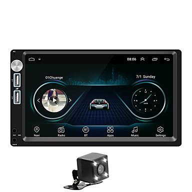 levne Auto Elektronika-SWM A5+4LEDcamera 7 inch 2 Din Android 8.1 Multimediální přehrávač automobilů / Auto MP5 přehrávač / Auto MP4 přehrávač Dotykový displej / GPS / Zabudovaný Bluetooth pro Evrensel RCA / Další Podpěra