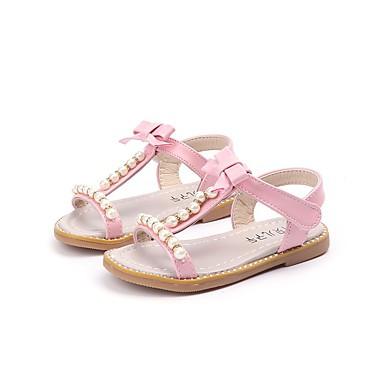 preiswerte Schuhe und Taschen-Mädchen Komfort Kunstleder Sandalen Kleinkind (9m-4ys) / Kleine Kinder (4-7 Jahre) Beige / Grün / Rosa Sommer