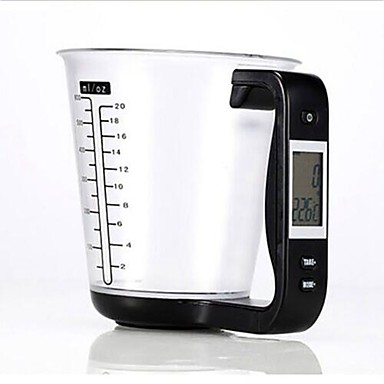 preiswerte Meßwerkzeuge-ABS + PC Messgerät Maßnehmen Küchengeräte Werkzeuge Für den täglichen Einsatz 1pc