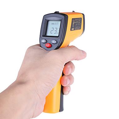 levne Testovací, měřící a kontrolní vybavení-laser lcd digitální ir infračervený teploměr teploměr zbraň zbraň bezkontaktní teploměr benetech gm320