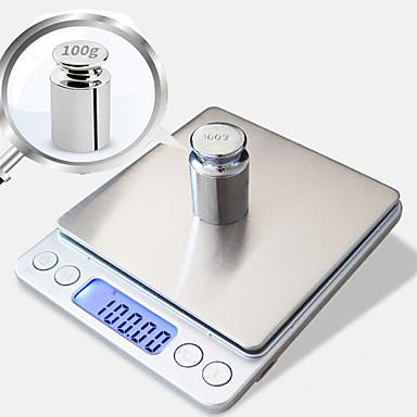ieftine Ustensile & Echipamente-0.01g-500g portabile mini electronice digitale cutie de buzunar caz poștale de înaltă precizie bucătărie bijuterii greutate