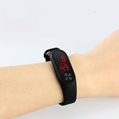 levne Pánské-Pro páry Sportovní hodinky Digitální hodinky Digitální Černá / Bílá / Červená 30 m Voděodolné LCD Digitální Na běžné nošení Módní - Černá Světle modrá Bílá Jeden rok Životnost baterie