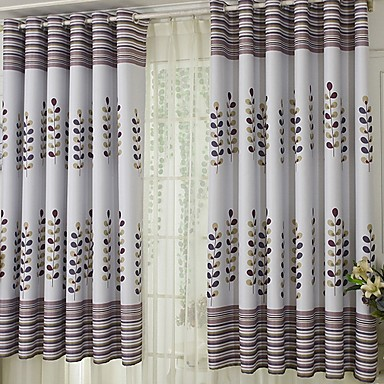[$34.55] Contemporary Blackout One Panel Curtain Living Room Curtains