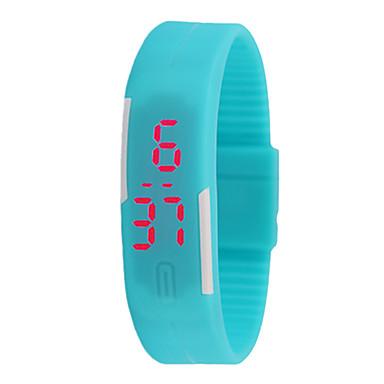 levne Pánské-Pro páry Sportovní hodinky Digitální Modrá / Červená Ne LCD Digitální Módní - Červená Modrá Světle modrá Jeden rok Životnost baterie