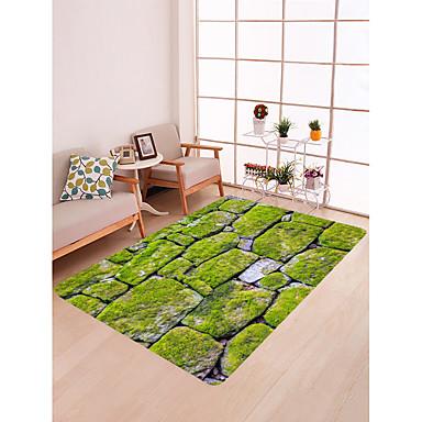 preiswerte Teppiche-Fußmatten Landhaus Stil Baumwollflanell, Rechteck Gehobene Qualität Teppich