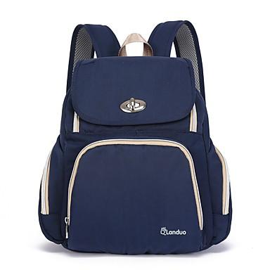 69 99 Nylon Diaper Bag Zipper Green Black Dark Blue