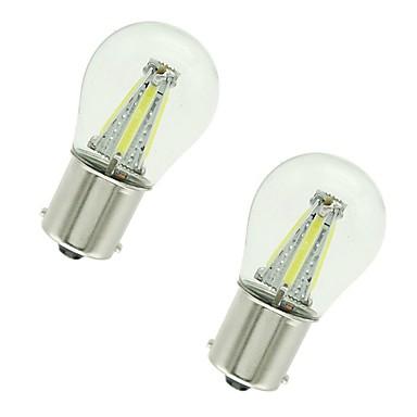 povoljno Stop-svjetla-2pcs 1156 / 1157 Automobil Žarulje 4 W COB 300 lm 4 LED Žmigavac svjetlo / Stop-svjetla / Svjetla za vožnju unatrag (backup) Za Univerzális Sve godine