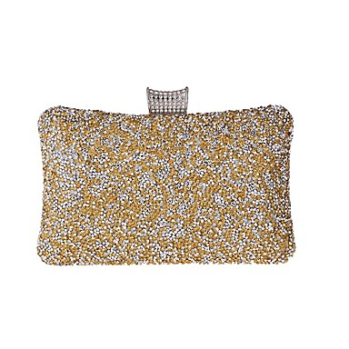 Women's Bags Alloy Evening Bag Crystals /