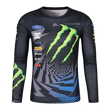 billige Motorsykkeljakker-moto gp teams racerklær ridning t-skjorte for off-road jersey