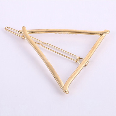 cheap Hair Jewelry-Women's Geometric Work Cute Alloy Hair Charms Solid Colored