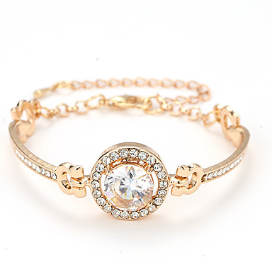 bdf0e8b6c611 Women's Classic Bracelet Bangles Circle Cheap Stylish Elegant Bracelet  Jewelry Gold / Silver / Rose Gold For Daily Date Valentine 7167335 2019 –  $3.14
