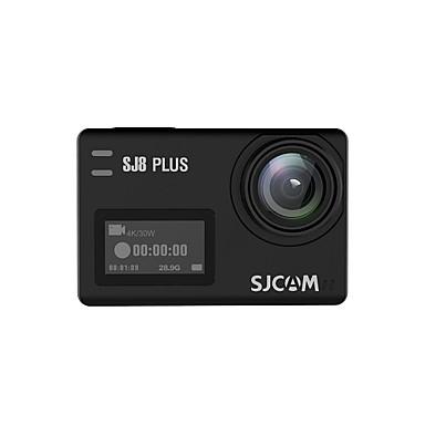 billige Bil Elektronikk-SJCAM SJCAM SJ8PLUS 2160p Mini Bil DVR 170 grader Bred vinkel 12 MP 2.33 tommers TFT LCD Skjerm / Kapasitiv skjerm / IPS Dash Cam med WIFI / Bevegelsessensor / Loop-opptak Nei Bilopptaker