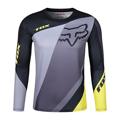 billige Motorsykkel & ATV tilbehør-fox moto gp team herren racing wear ridning off-road jersey t-skjorte