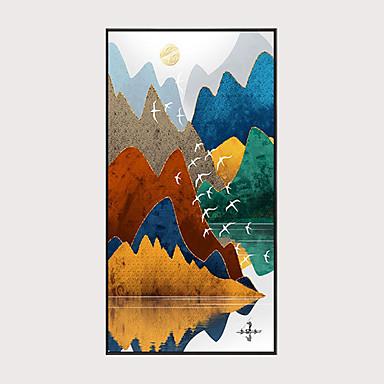 cheap Wall Art-Print Stretched Canvas Prints - Modern Modern Art Prints