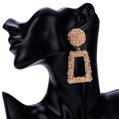 79d0fd376c7a Mujer Pendientes colgantes Plateado Chapado en Oro Aretes Joyas Negro    Plata   Rojo Para Boda Diario Fiesta de Noche Noche 1 Par 7146566 2019 –   5.99