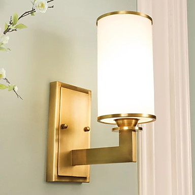 [$98.69] New Design Modern Contemporary Wall Lamps & Sconces Bedroom /  Indoor Metal Wall Light 220-240V 40 W