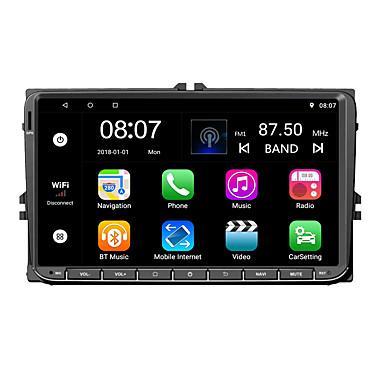 billige Bil Elektronikk-Factory OEM YYD-9020G 9 tommers 2 Din Android 7.1 I-Instrumentpanel Kvadro-Kjerne til Volkswagen RCA / Lyd / GPS Brukerstøtte MOV / VOB / RMVB mp3 / WMA / WAV jpeg / GIF / BMP