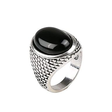 levne Pánské šperky-Pánské Vyzvánění 1ks Zlatá Stříbrná Pryskyřice Slitina Armáda Dar Denní Šperky Cool