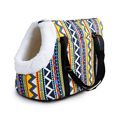 f908658fa4 Dogs Cats Pets Carrier & Travel Backpack Shoulder Messenger Bag Pet Carrier  Waterproof Portable Mini Solid Colored Red Blue Rainbow 7148474 2019 –  $23.45