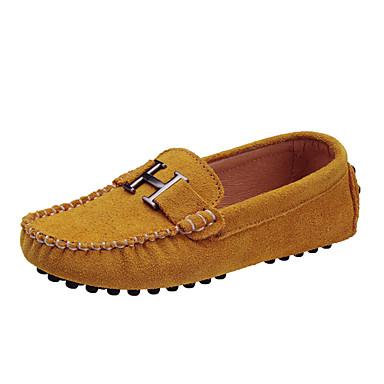 preiswerte Schuhe für Kinder-Jungen / Mädchen Komfort Wildleder Loafers & Slip-Ons Kleine Kinder (4-7 Jahre) / Große Kinder (ab 7 Jahren) Fuchsia / Blau / Khaki Frühling / Gummi