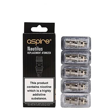 preiswerte Zerstäuberkerne-LITBest Nautilus mini BVC 5 Stücke Zerstäuberkerne Vape  Elektronische Zigarette for Erwachsener