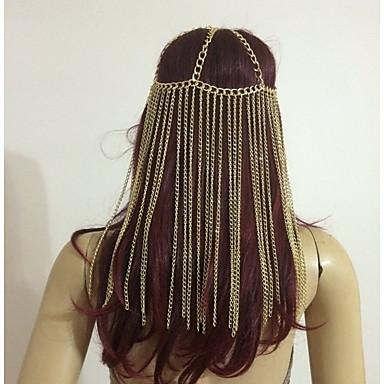levne Dámské šperky-Dámské Vintage 1920s Gatsby Slitina Doplňky do vlasů Párty