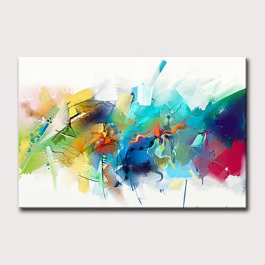 povoljno Ulja na platnu-Hang oslikana uljanim bojama Ručno oslikana - Sažetak Odmor Klasik Moderna Bez unutrašnje Frame
