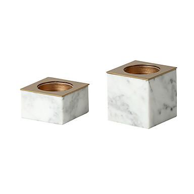 preiswerte Kerzen & Kerzenhalter-Moderne zeitgenössische Eisen Kerzenhalters Kandelaber 1pc, Kerze / Kerzenhalter