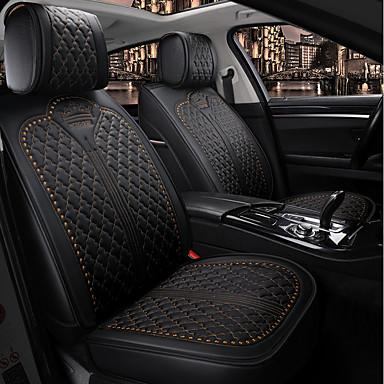 levne Doplňky do interiéru-koruna čtyři sezóny obecný sedák do autosedačky, potah sedadel do auta pro 5 sedadel / pu kůže / kompatibilita airbagů / nastavitelný a odnímatelný / rodinné auto / suv