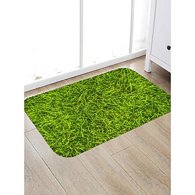 preiswerte Teppiche-Fußmatten Stadtansicht Motiv Baumwollflanell, Rechteck Gehobene Qualität Teppich