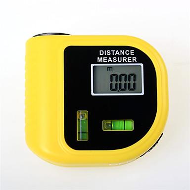preiswerte Füllstand-Messgeräte-Laser-Entfernungsmesser-Laser-Ultraschall-Entfernungsmesser cp-3010 gelber Laserhand