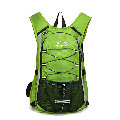 cheap Running Bags-Cycling Backpack Sports & Leisure Bag Running Pack for Running Leisure Sports Cycling / Bike Camping / Hiking / Caving Sports Bag Multifunctional Waterproof Wearable Terylene Running Bag