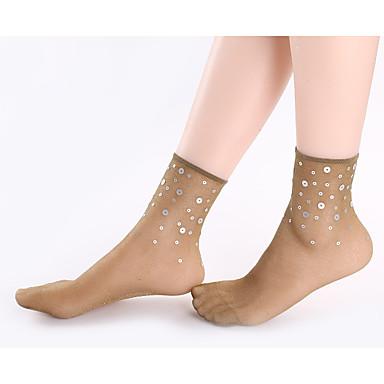 preiswerte Schuhe Zubehör-1 Paar Damen Socken Standard Solide / Punkt Lindert Angst Sexy Nylon EU36-EU46