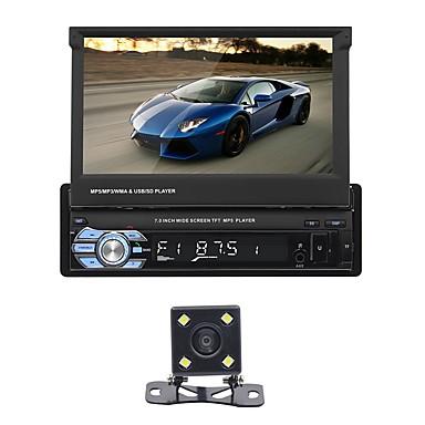 levne Auto Elektronika-SWM 9601+4Led camera 7 inch 2 Din Ostatní OS Auto MP5 přehrávač Dotykový displej / MP4 / Zabudovaný Bluetooth pro Evrensel RCA / MicroUSB / Další Podpěra, podpora Mpeg / MOV / MPG mp3 / WMA / WAV