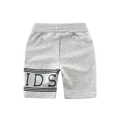 preiswerte Hosen für Jungen-Kinder Jungen Solide Shorts Schwarz