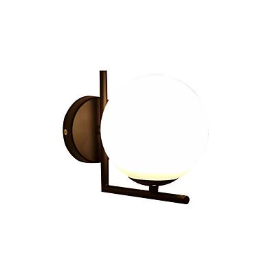 glassveggbelysning søte moderne moderne vegglamper& sconces stuen / kontor / soverom metall veggen lys
